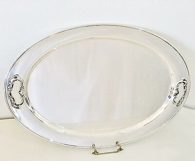 Gorham STRASBOURG Sterling Silver TEA TRAY, No Monogram