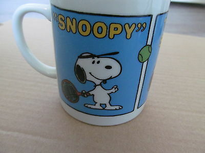 Peanuts Snoopy Tennis Star Mug