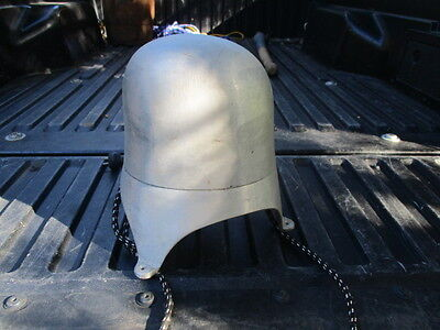 """Antique Head Mold Aluminum Electric Hat Stretcher Block 22"""" . Tested"""