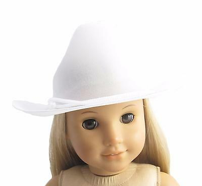 Adorable Beige Straw Hat Accessories fits 18 inch AG American Doll Doll Clothes