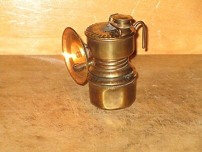 Miners  1916 GUY'S DROPPER CARBIDE LAMP-WORKING! - NICE!!