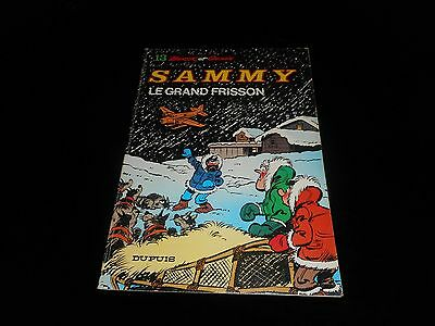 Berck / Cauvin : Sammy 13 : Le grand frisson Edition Dupuis souple 1983