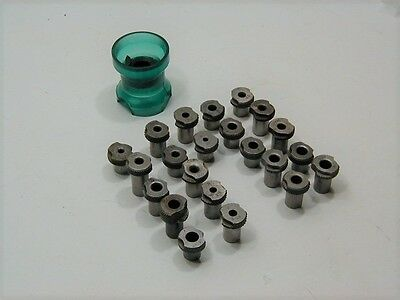 Magnavon Egg Cup Drill Stand Off & (22) Slip Fit Drill Bushing Tools