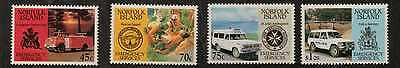 Norfolk Island Sg546/9 1993 Emergency Services Mnh