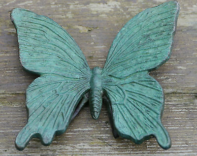Butterfly Cast In Solid Bronze Stunning Unique Pure Contemporary Sculpture