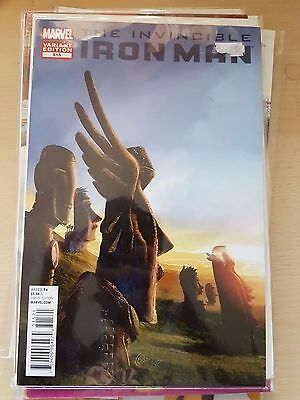 "Marvel Invincible Iron Man issue 515 Thor ""Salvador Dali"" variant"