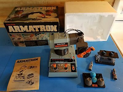 Vintage Tandy Radio Shack Armatron Robot Claw Arm + Box Tested Works // FREE S&H