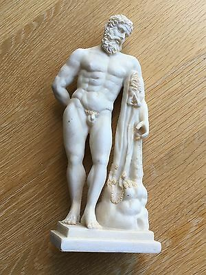 20th century reproduction of the Farnese Heracles / Hercules statuette