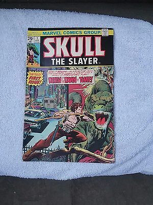 Marvel Skull The Slayer #1 August 1975