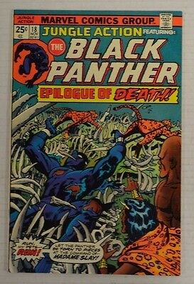 Jungle Action #18 Feat. Black Panther (1975) High Grade NM Comic Book Z144