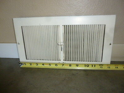 Vintage Steel Floor Heat Grate Register Vent Wall Vent