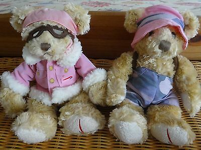 BRITISH AIRWAYS Russ Berrie Collectable AMY Teddy's x 2