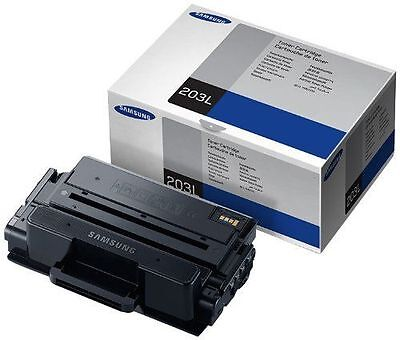 New Genuine Samsung 203L MLT-D203L High Yield Black Toner NO BOX SEALED BAG