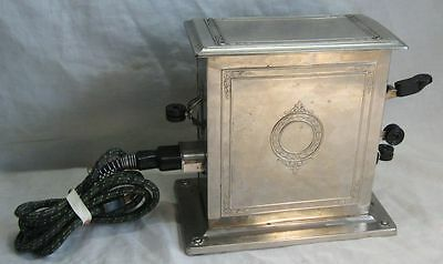 Antique Kitchen Appliance Universal Toaster With Sliding Bread Rack