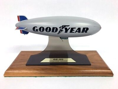 Vintage Goodyear Airship Gz-20 Blimp Mounted Model | 1 Of Only 4 Produced | Rare