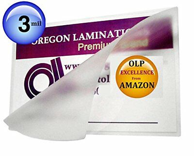 Qty 200 Double Letter Laminating Pouches 3 Mil 11-1/2 x 17-1/2 Hot Laminator Sle