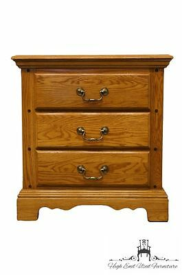 CARLISLE COLLECTION Solid Oak Commode Nightstand 700-227