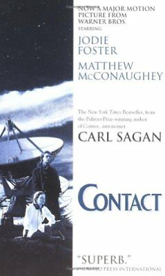 Contact by Sagan, Carl Paperback Book The Cheap Fast Free Post