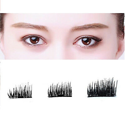 3D Magnetic False Eyelashes Individually Handmade Natural Eye Lashes REUSABLE