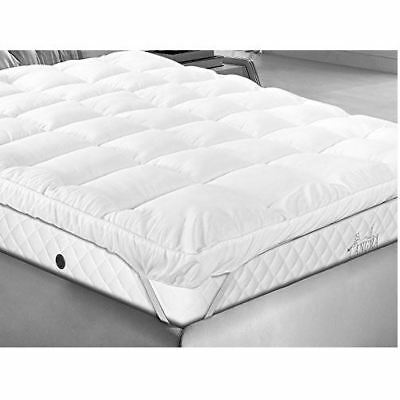 Laura Secret Microfibre Quilted Bed Mattress Protector Topper Anti-Allergy Cover