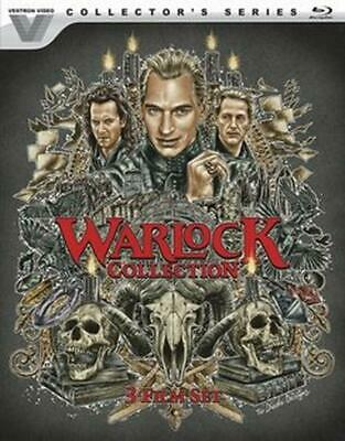 Warlock 1-3 Collection - Blu-Ray Region 1 Free Shipping!