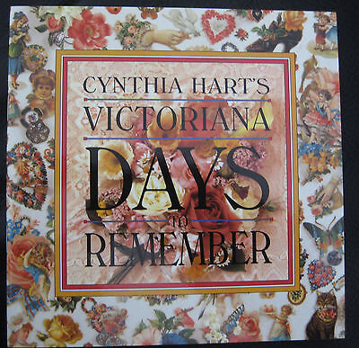 "Cynthia Hart's Victoriana ""days To Remember"" Diary Booklet Calendar"