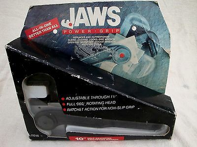 """Jaws Powergrip 10"""" Self Adjusting Ratcheting Wrench J1010 New Boxed"""
