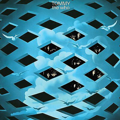THE WHO Tommy 2013 UK 180g vinyl 2-LP SEALED / NEW
