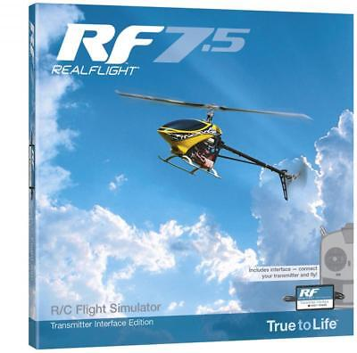 Real Flight 7.5 with Wired Interface #A-GPMZ4535