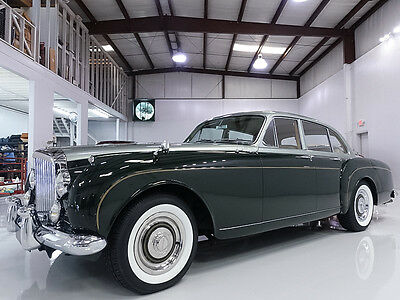 1961 Bentley Continental Flying Spur by H.J. Mulliner 1961 Bentley S2 Continental Flying Spur by H. J. Mulliner, 1 of 76 with RHD!