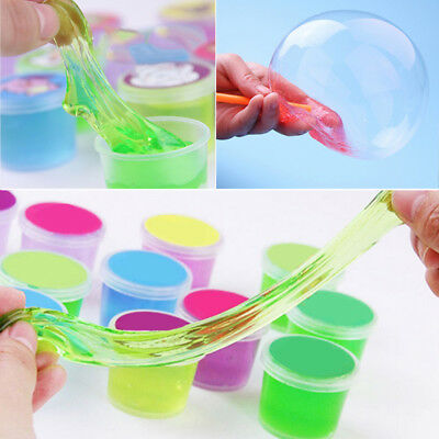 1PCS Colorful 3D DIY Crystal Clay Mud Slime Hand Gum Innovative Kids Clay Toy