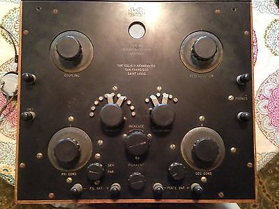 Colin B. Kennedy intermediate wave radio receiver Type 220