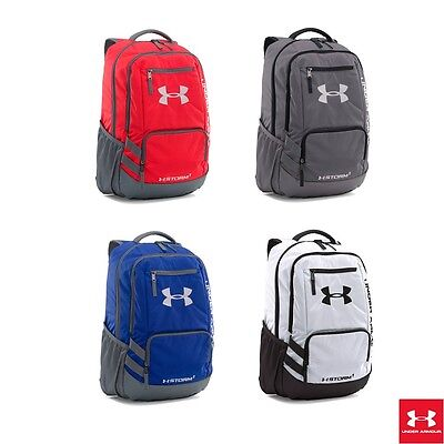 NEW Under Armour Team Hustle Storm1 Backpack UNISEX 4 Colors AUTHENTIC