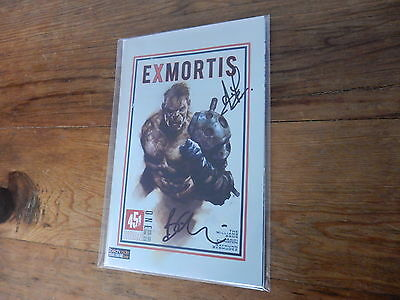 ExMortis #1 451 Media Comics Signed by Ewington and Oliver FP Jetpack Variant