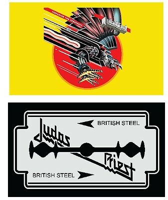 Judas Priest Double Pack Flag Poster 3' X 5'