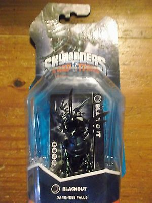 Skylanders Trap Team  * Blackout  * Stapled * Buy Now * Rare *free Ship*