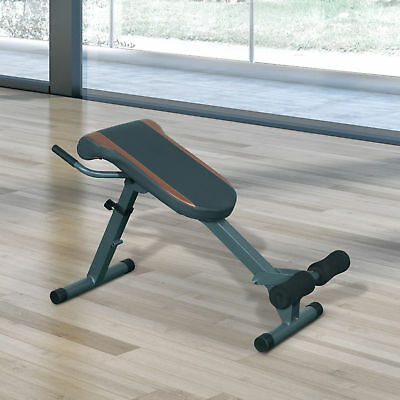 Roman Chair Abs Extensions Exercise Muscle Workout Home Gym Fitness Sports