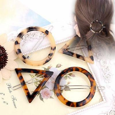 Special Design Geometric Ink Leopard Hairpin Hair Clips Hair Accessories