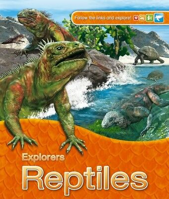 Explorers: Reptiles (Paperback), Llewellyn, Claire, 9780753436530