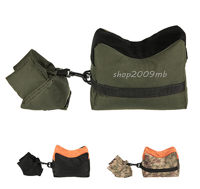 Front&Rear Sandbag Shooting Hunting Rifle Support Oxford Cloth Unfilled Package
