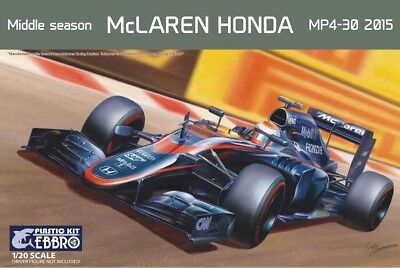 EBBRO 20014 - 1/20 McLAREN HONDA - MIDDLE SEASON MP4-30 2015 - NEU