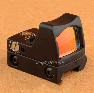RMR Reflex Adjustable Red Dot Sight 3.25 MOA Holographic Sight Scope 20mm Rail