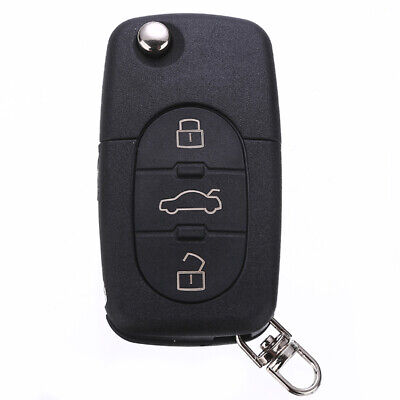 NEW 3 Button Remote Key Fob Shell Case Blade HAA Fit for Audi A2 A3 A4 A6 A8 TT