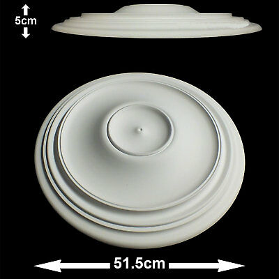 Arabella Ceiling Rose Lightweight Resin 51cm x 5cm Paintable Easy Fix