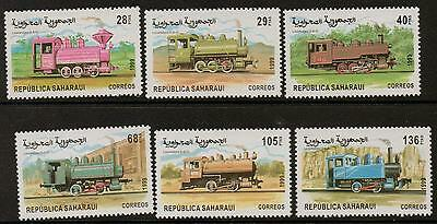 Sahara 1999 Railways  Mnh
