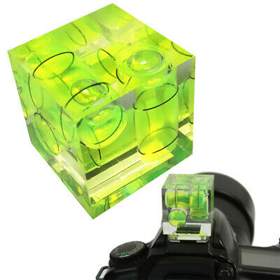 3-Axis Camera Spirit Level Flashbulb Flashlight Shoe Mount - By TRIXES