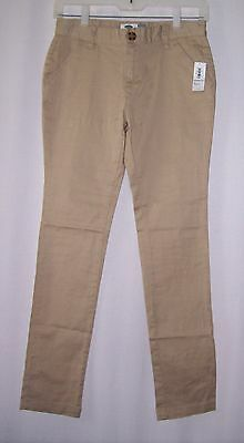 New girls stretch Old Navy Skinny pants size 12 adjustable waistband NWT