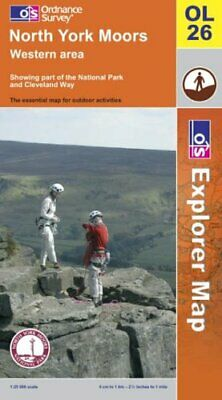 North York Moors: Western Area (Explorer... by Ordnance Survey Sheet map, folded