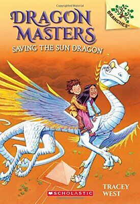 Dragon Masters Saving the Sun by West, Tracey Book The Cheap Fast Free Post