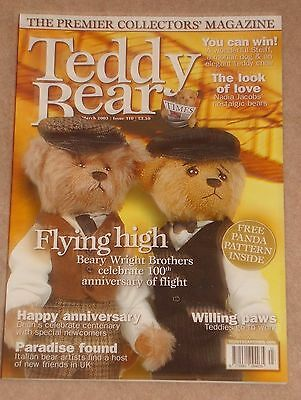 Teddy Bear Times Magazine Issue 110 Dated March 2003